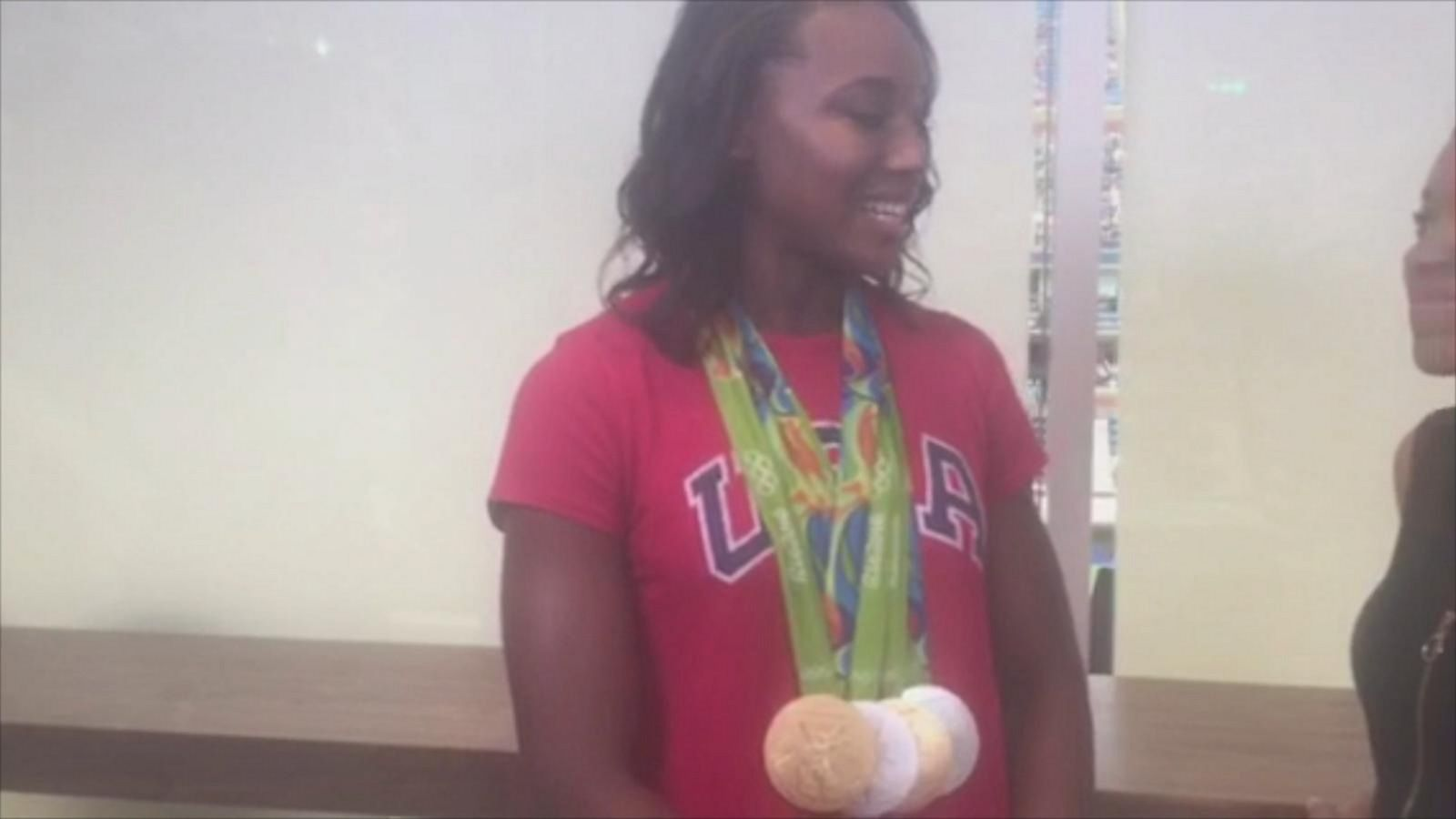 VIDEO: Simone Manuel Kicks off Arthur Ash Kids Day Ahead of U.S. Open