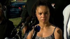 VIDEO: The 15-year-old girl who was pepper-sprayed by Maryland police has spoken out, sharing her account of what happened Sunday afternoon at a press conference Thursday night.