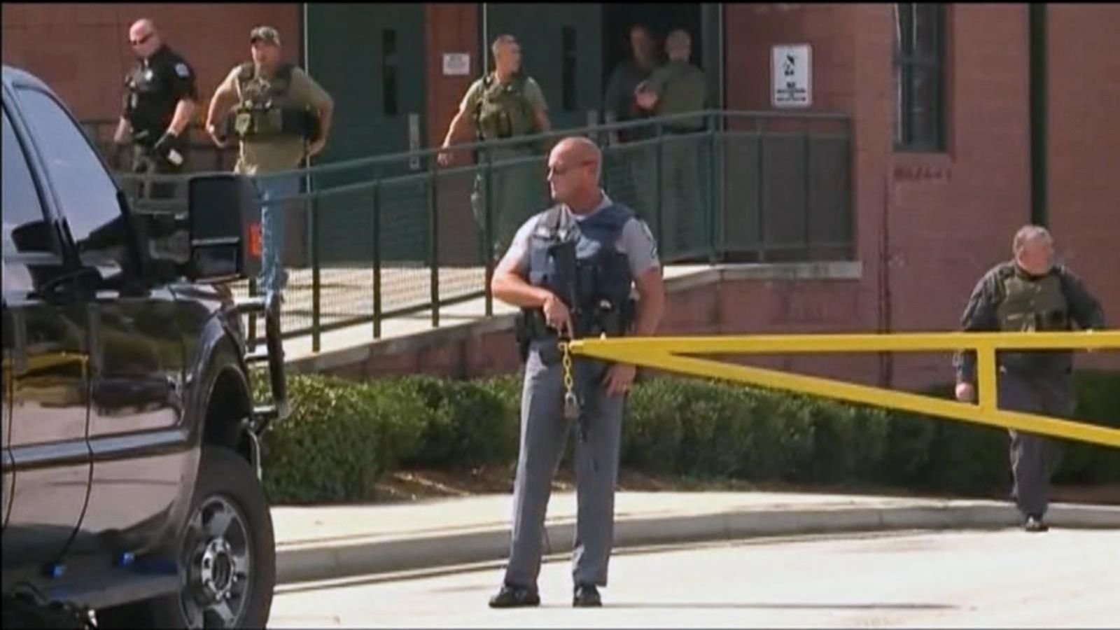 The shooting suspect, a teenager, is in custody, police said.