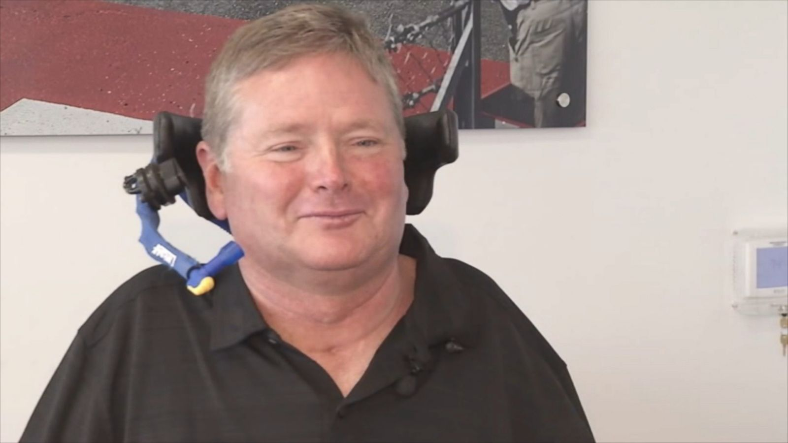 VIDEO: Sam Schmidt, a former race car driver, received a license in Nevada to drive a semi-autonomous car.