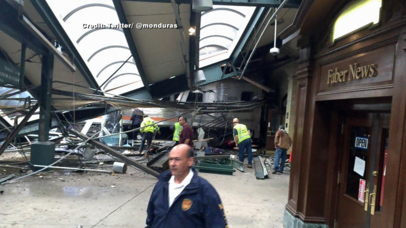 Authorities are responding to the incident in Hoboken, New Jersey.