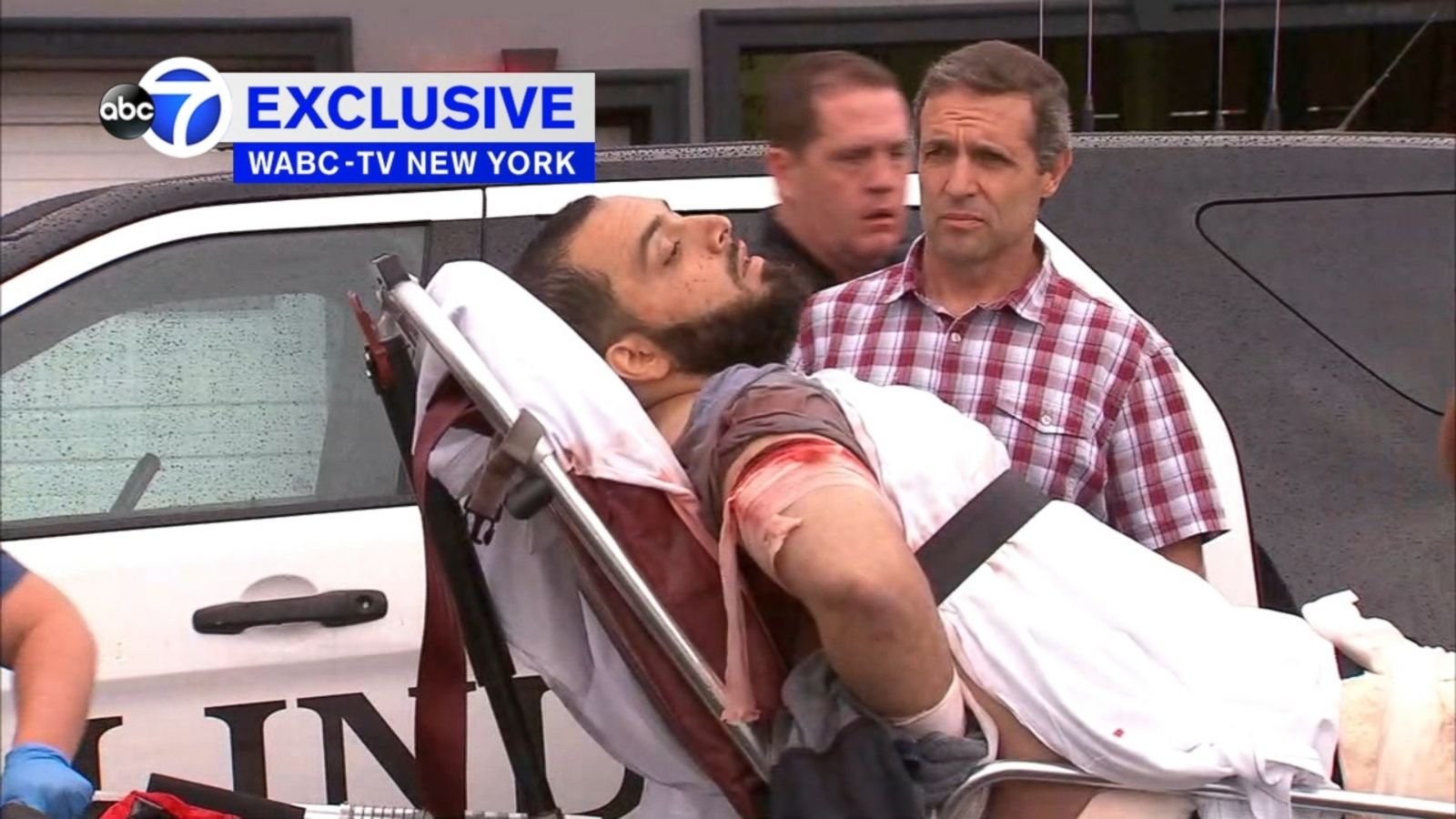 The 911 call that led police to the suspected New York and New Jersey bomber in Linden, New Jersey, last week has been obtained today by ABC News.
