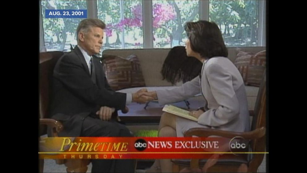 Aug. 23, 2001: Congressman Gary Condit had an affair with the young Washington intern Chandra Levy.