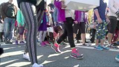 A Rhode Island man recently wrote a Letter to the Editor where he criticized women for wearing yoga pants, prompting local women to organize a Yoga Pants Parade in front of his house.