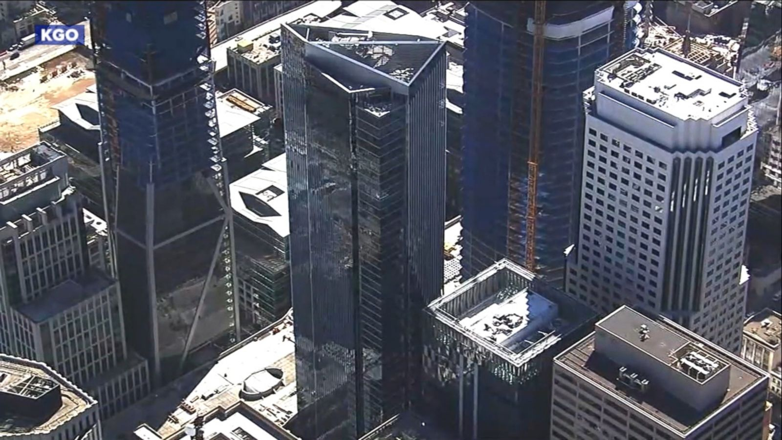 "VIDEO: The 58-story building has gained notoriety in recent weeks as the ""leaning tower of San Francisco."""