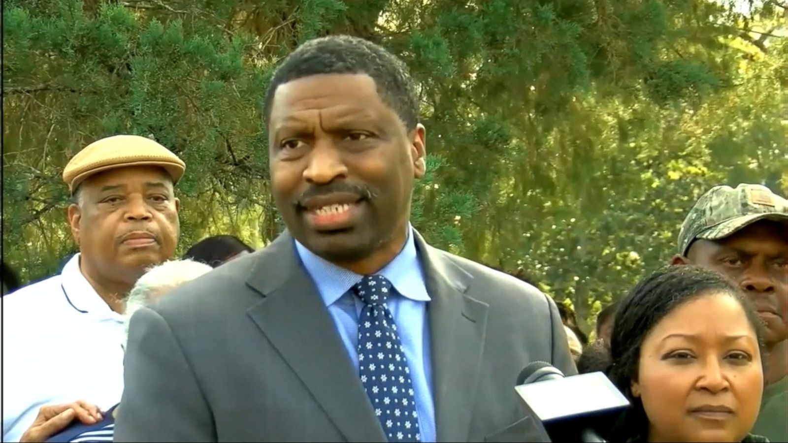 VIDEO: At a Monday news conference, the Mississippi NAACP demanded a federal hate crime investigation.