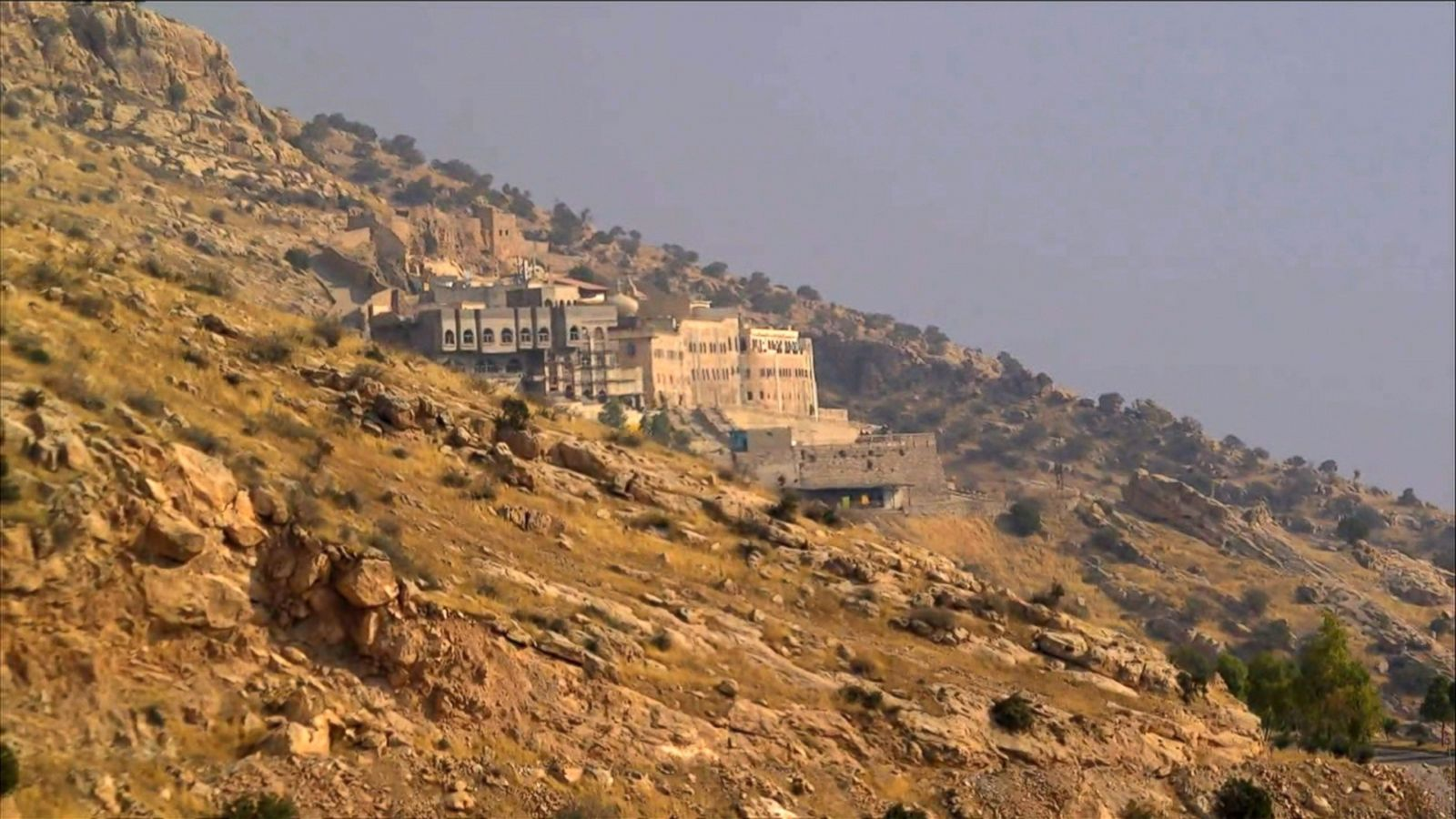VIDEO: Mountainside Monastery a Sanctuary from the Battle for Mosul Below