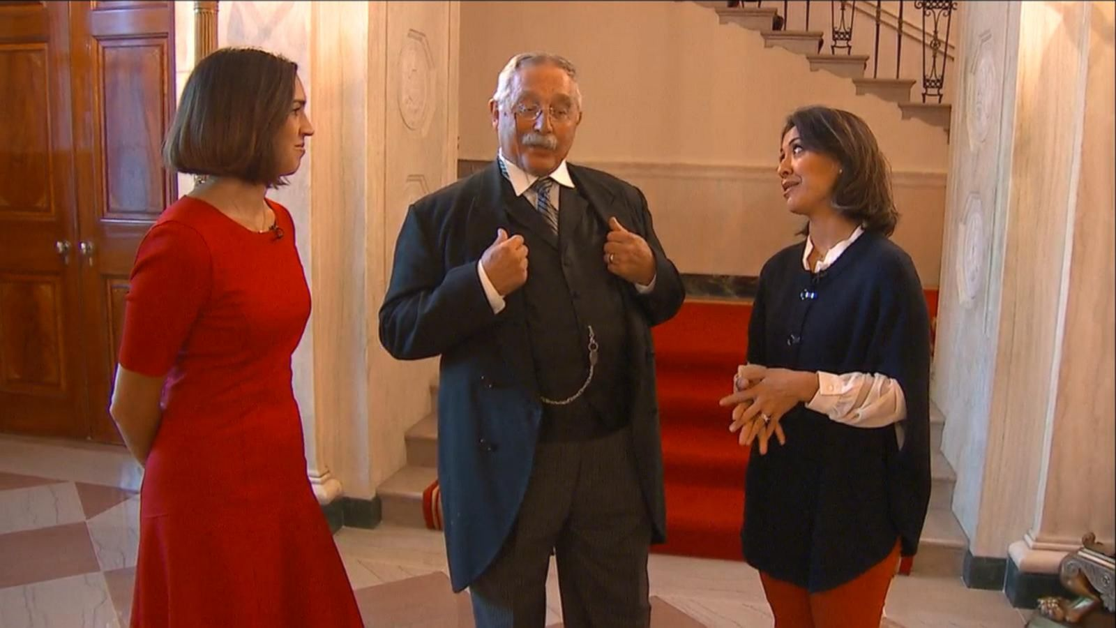 VIDEO: Ghost of Theodore Roosevelt Haunts the White House in Ghost Tour