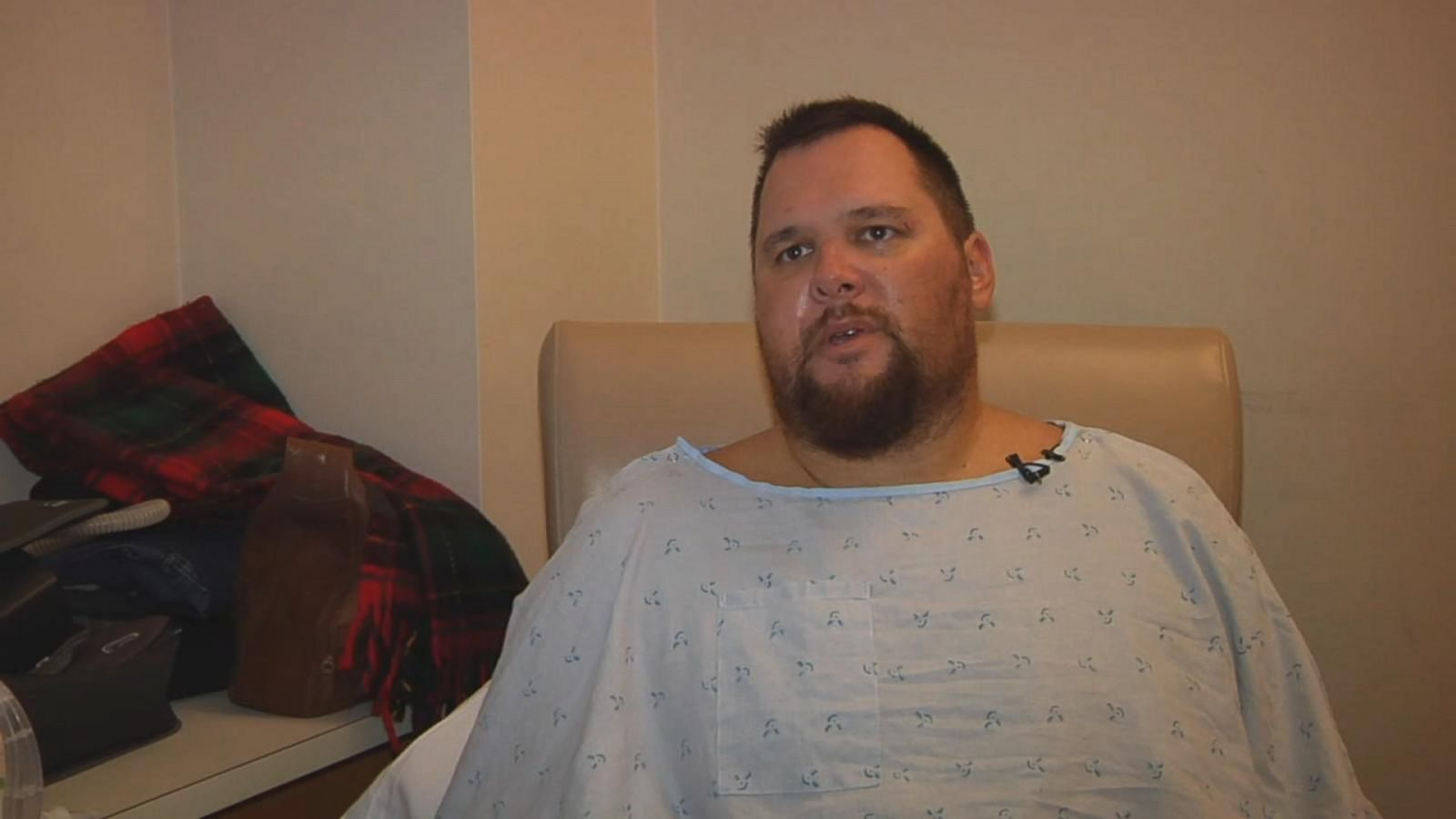 Kevin Diepenbrock survived the crash and the hours-long wait for help.
