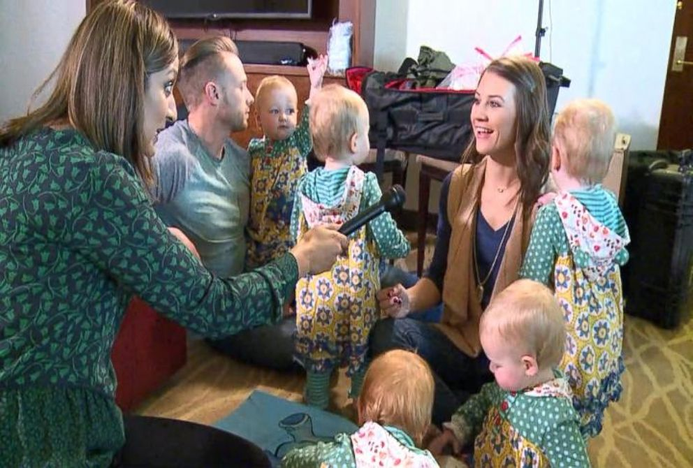 Meet the first all girl quintuplets born in the u s video for Where does the outdaughtered family live