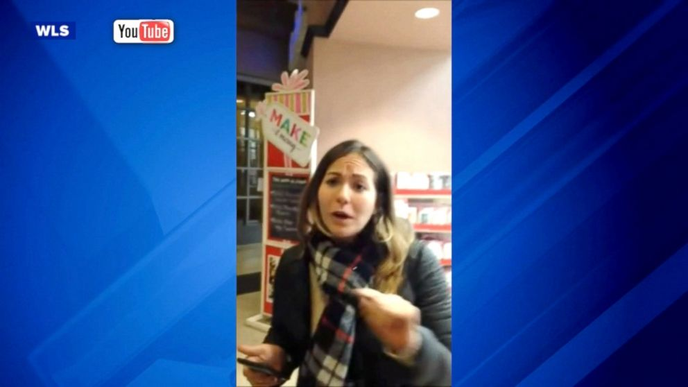 Watch woman berates michael s employee in viral video for Michaels chicago woman