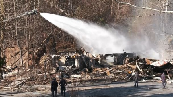 VIDEO: Four more deaths have been confirmed as a result of the massive wildfires in eastern Tennessee -- bringing the death toll to 11, officials said on Thursday.