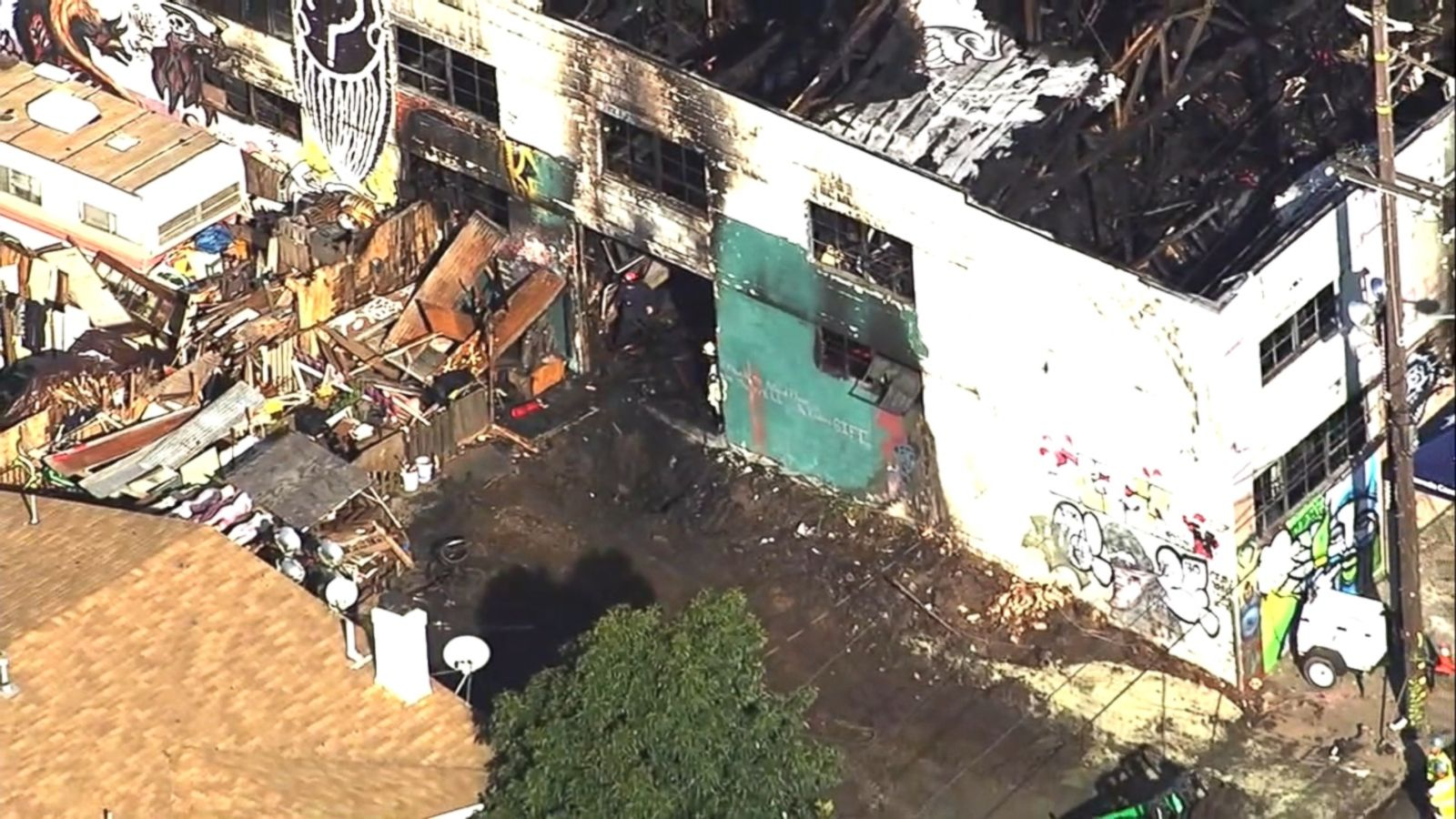 "VIDEO: Some victims of the Oakland, California, warehouse fire that killed at least 36 people texted messages to relatives such as, ""I'm going to die"" and ""I love you,"" according to Alameda County Sheriff's Office spokesman Sgt. Ray Kelly."
