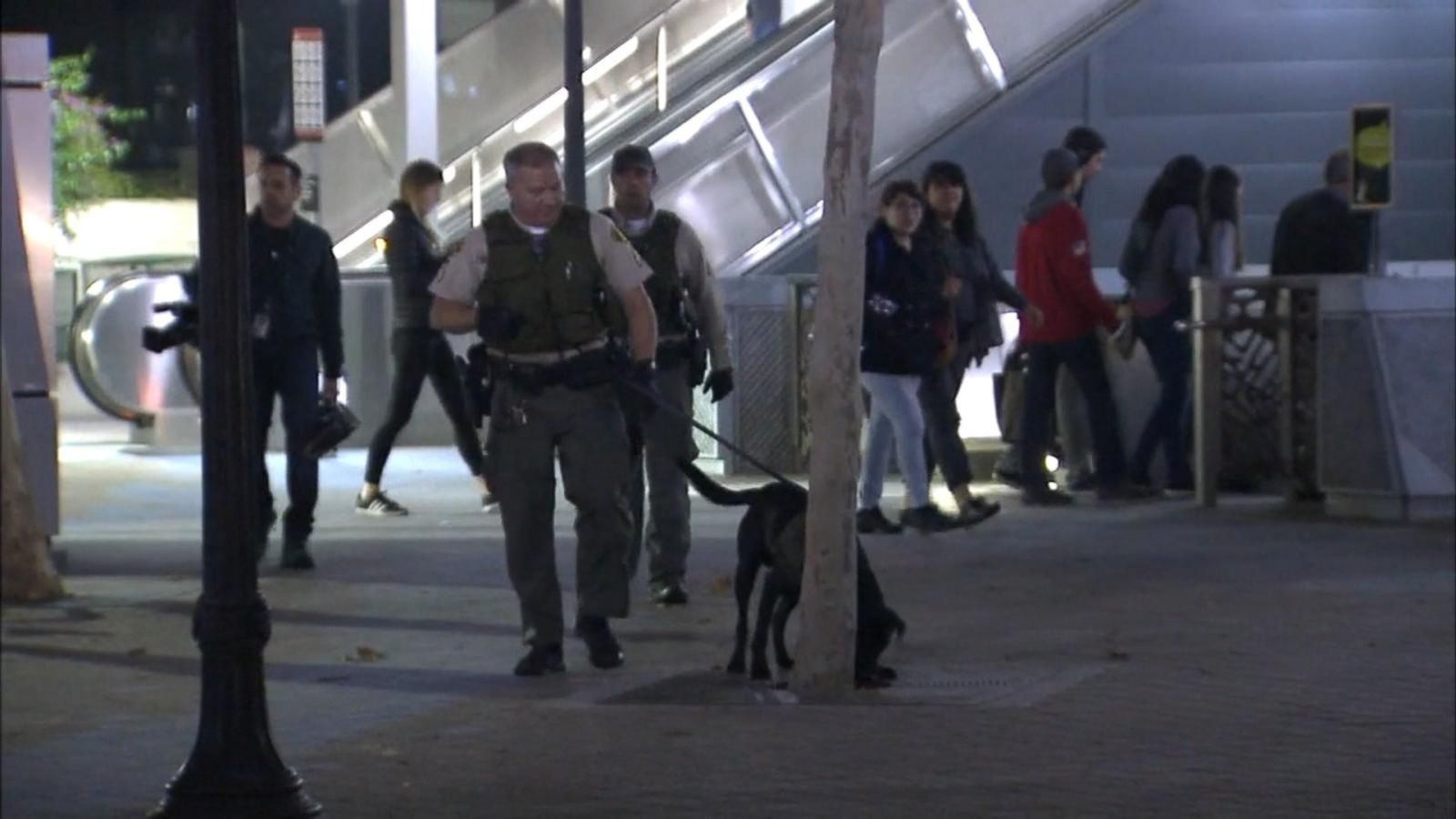 VIDEO: Los Angeles Beefs Up Transit Security After Terror Threat