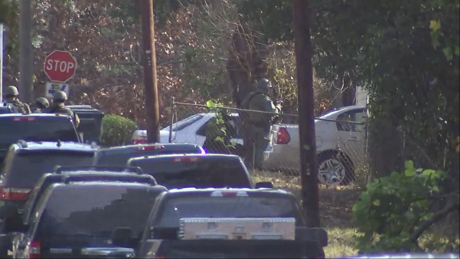 A man suspected of shooting two police officers in Georgia is now dead.