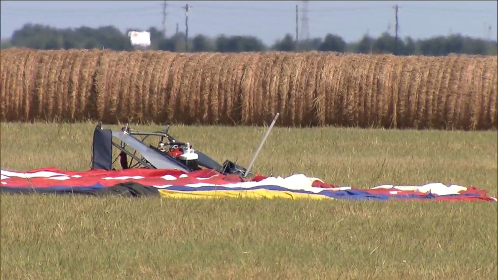 """In the early hours of July 30, Alfred """"Skip"""" Nichols was piloting a hot air balloon near Lockhart, Texas, with 15 passengers on board, when the balloon ultimately crashed into a field after striking high-voltage power lines."""