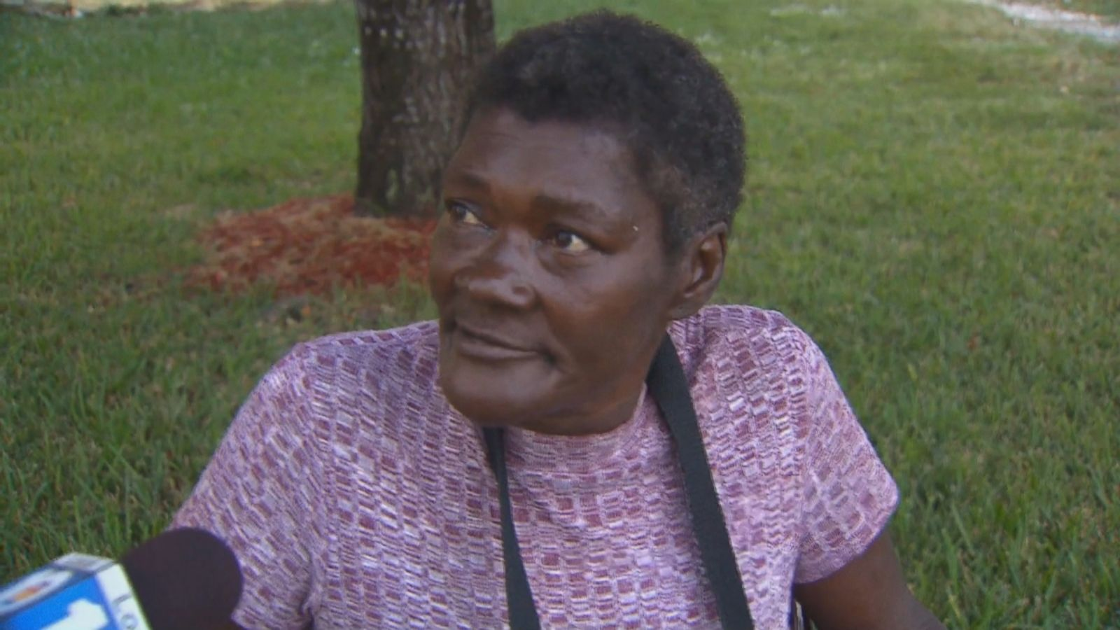 VIDEO: Mary Brown says she's still recovering from her arrest by Miami-Dade police officers for trespassing.
