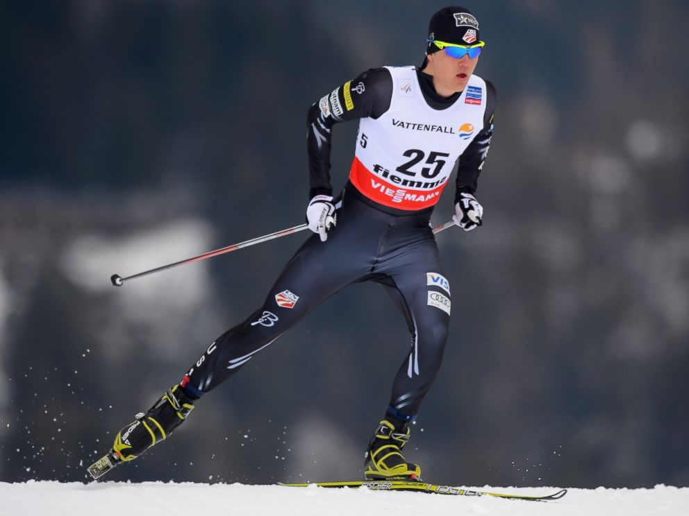 PHOTO: Erik Bjornsen of the United States, during the Mens Cross Country Individual 15km at the FIS Nordic World Ski Championships, Feb. 27, 2013, in Val di Fiemme, Italy.
