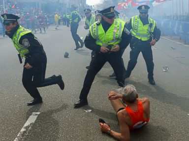 Photos: Haunting Photos From the Boston Marathon Bombing