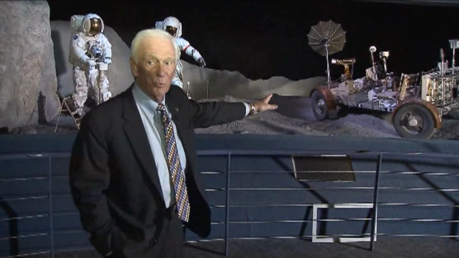 Former astronaut Gene Cernan, the last person to walk on the moon, has died at age 82.