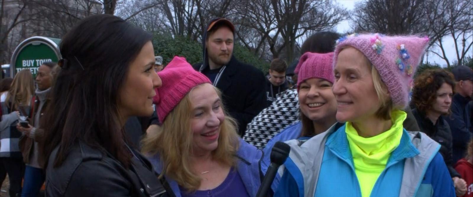 VIDEO: D.C. Women's March Almost Underway