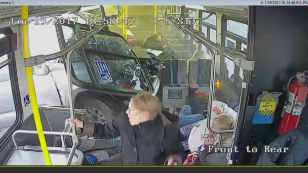 VIDEO: Several Centro passengers in Syracuse sustained minor injuries, police said.