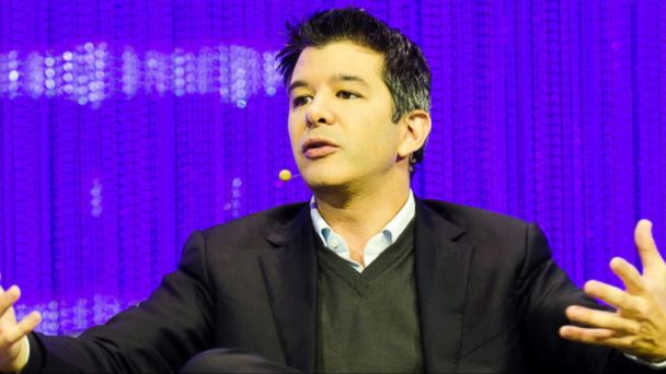 VIDEO: Travis Kalanick, the co-founder and chief executive of popular ride-sharing app Uber, announced Thursday he is stepping down from his position on President Donald Trump's economic advisory council.