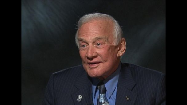 The Apollo 11 astronaut reflects on his moonwalk and encourages a continued exploration of space.