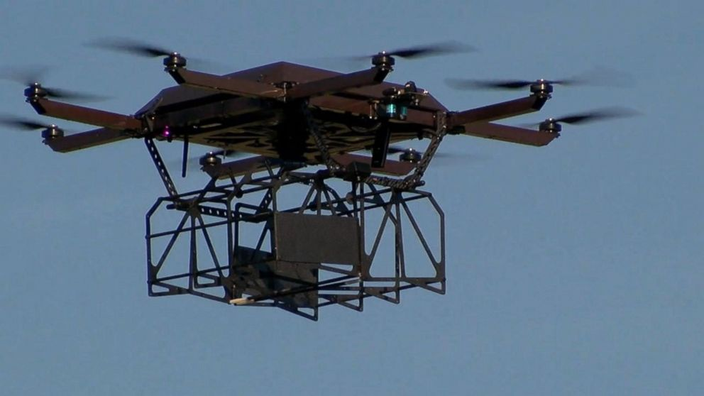 UPS Tests Launching Drones From Delivery Trucks Video
