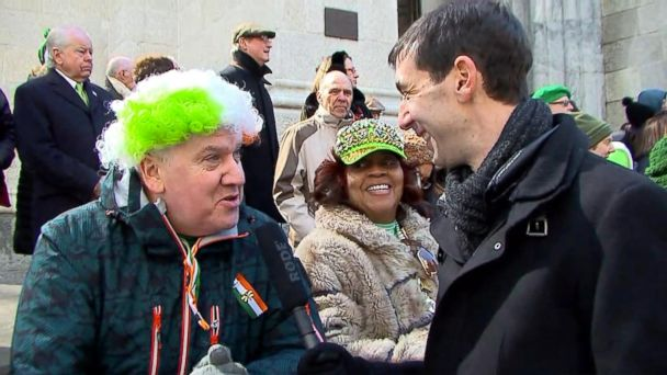 VIDEO: New York City celebrates St. Patrick's Day