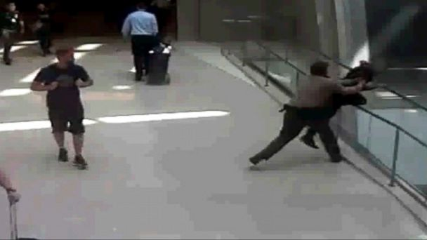 Image result for LAX security officer stops woman from jumping off bridge