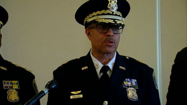 VIDEO: A DNA match has linked a man accused of shooting and injuring two Detroit police officers this week to the November murder of a university officer, Detroit Police Chief James Craig said today.