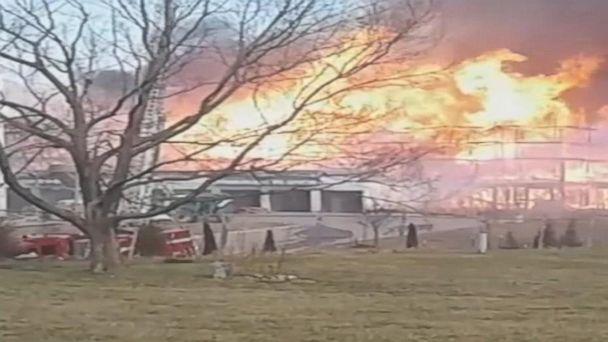 VIDEO: Massive apartment fire ignites in Kansas City