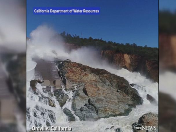 WATCH:  Oroville Dam floodgates opened for 1st time since February