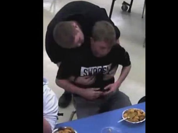 WATCH:  High school student performs Heimlich maneuver on classmate