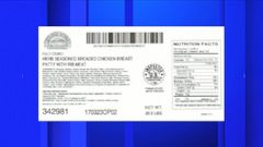 VIDEO: The poultry producer recalled more than 933,000 pounds of chicken products.