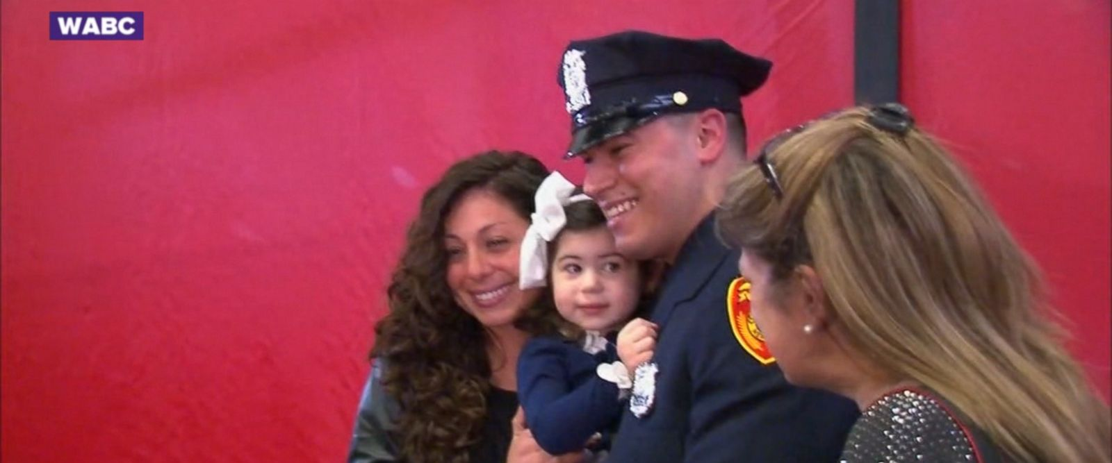 Officer Matias Ferreira is celebrating a dream come true today.