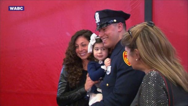 Officer Matias Ferreira is celebrating a dream come true today.
