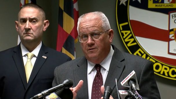 VIDEO: A shotgun, bomb making materials and a journal with a detailed plan for a shooting at a high school were recovered from the home of a Maryland high school student, authorities said today.