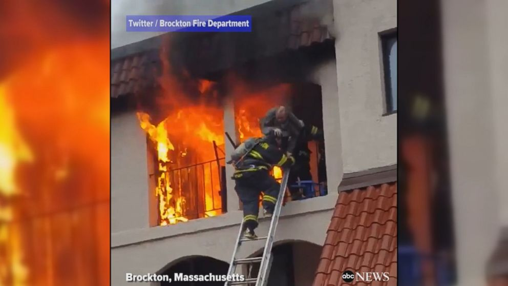 English Apartment Building Fire