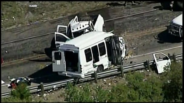 According to the Texas Department of Public Safety, the bus was carrying congregants from the First Baptist Church in New Braunfels, Texas at the time the accident occurred.