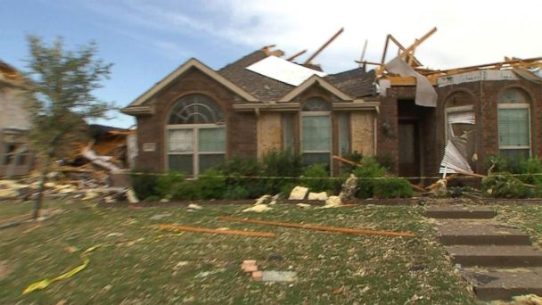 VIDEO: Crews assess damage in wake of North Texas storms