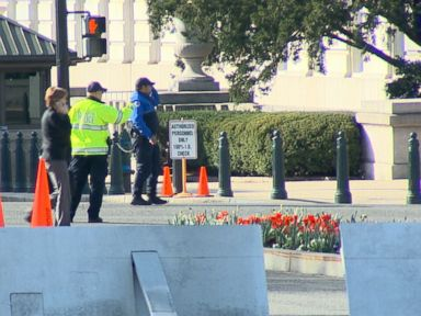 WATCH:  Shots fired near Capitol, suspect in custody