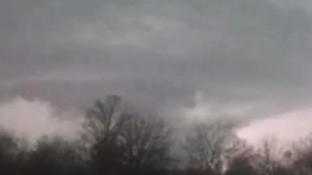 VIDEO:  Huge funnel cloud spotted in Granby, Missouri