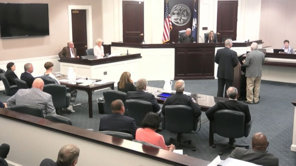 Dylann Roof's grandfather Joe Roof addressed the court for the first time today.