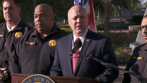 VIDEO: Mayor Mitch Landrieu discussed the city's process for removing statues commemorating the Confederacy.