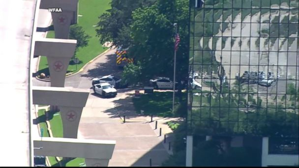 Two people are dead in what is believed to be a murder-suicide at an office building in Dallas, Texas, police said.