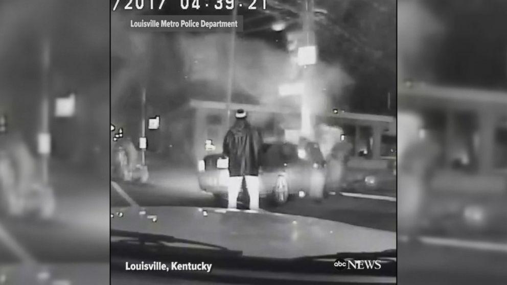 WATCH:  Police officer, Good Samaritan save victims from burning car