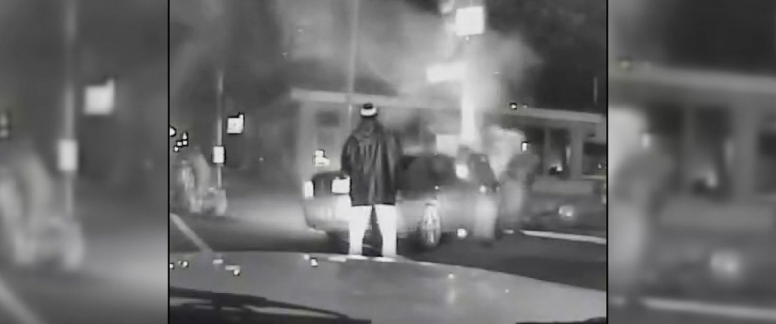 VIDEO: Louisville police officer and Good Samaritan rescue two men from a burning car.