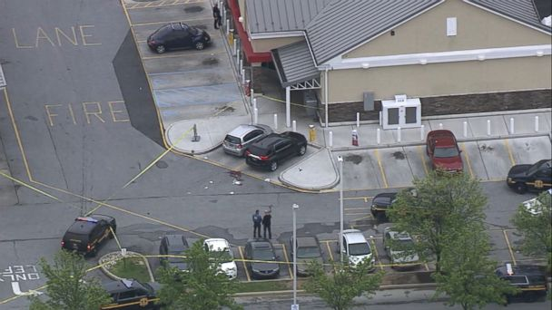 A state trooper was shot in the parking lot of a Wawa in Delaware and schools in the area were put on lockdown as cops searched for the suspect or suspects, Delaware State Police said.